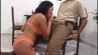 Doting Brunette Sustains A Long Time Of Rough Anal Throbbing In A Reality Shoot