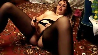 Lenka,pantyhose And A Vibrator Just For You
