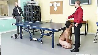 Youthful Teenie Gets A Nice Oral Rock Hard Rod In His Lips At The Workplace