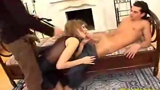 Big Cock, Blonde, Threesome, Blowjob, Amateur, Teen, Anal