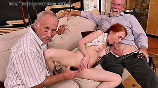 Old Mature Men Orgy