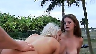 Blonde, Blowjob, Outdoor, Hardcore, Brunette, Teen