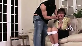 Lady Sonia Masturbates And Gets Bound