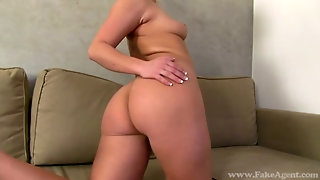 Fake Agent - Blonde Bella With Amazing Bubble Butt