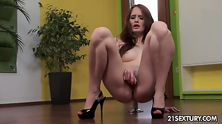 Ass Masturbation, Green, Natural Solo, Toys Solo, Masturbation Heels, Babe Masturbation, White Caucasian, Red Head Natural Tits, Masturbation On Ass, Redhead Solo Ass
