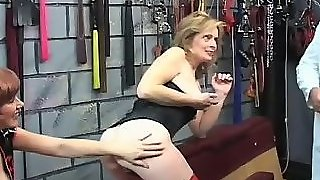 Teens Spanked And Fucked