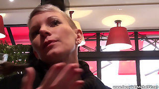 French Milf Mia Wallace Anal In Black Stockings