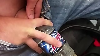 Guy Pulls Dick Out In School And Pisses