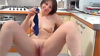Girl Masturbation And Dildoing Webcam