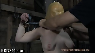 Sucking A Hard Toy Pecker