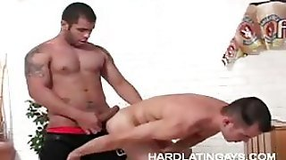 Hot Gay Bottom Takes It Deep