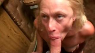 Dirty Granny Fucks Hotel Bar Manager