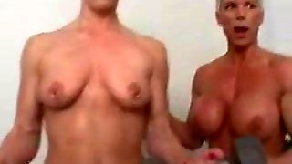 Bisexuals, Piercing, Workout, Nude Workout, Muscular Women, Nude