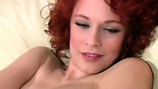 Horny Redhead Justine Jerkoff Instructor