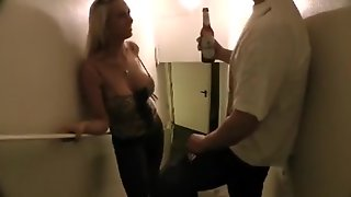 Busty Drunk Girl Picked Up