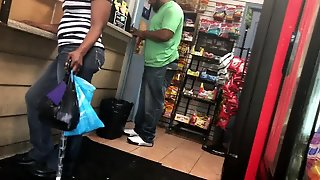 Hood Chick At The Gas Station