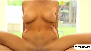 Big Tits Babe August Ames Erotic Fucking