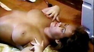Busty Chick Gets Screwed On Floor