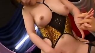 Milf In Sexy Lingerie Sucking Cock In 69 Fingered Riding On Her Husband On