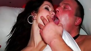 Very Hot Drunk Babe Gets Her Pussy