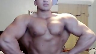 Webcam Muscle Worship, Muscle Flex