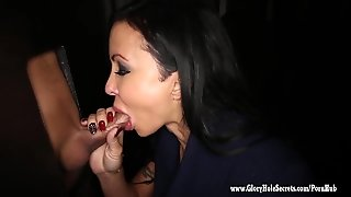 Gloryhole Secrets Buff Babe Jewels Jade Cum Swallowing At The Gloryhole 2
