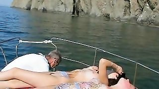 Amateur, Big Tits, Natural Tits, Young, Beach, Teen, Outside, Public, Boat Ride, Babes, Outdoors