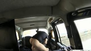 Big Natural Tits Babe In High Heels Screwed In The Taxi