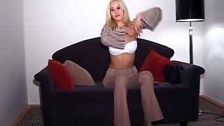 Double Penetration, Ass Fucking, Amateur, Slim, Casting, Trimmed Pussy, Blonde, Perky Tits, Hardcore