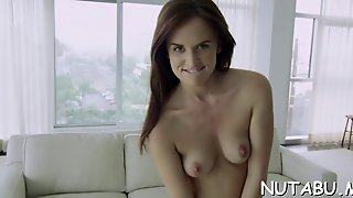 Cute Teen In A Solo Session