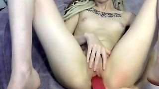 Sexy Blonde Has Fun With Big Toys And Orgasm - Cams26.com