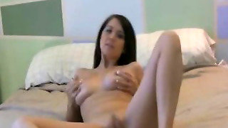 Big Tits Babe Loves To Play Her Wet Cunt