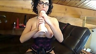 Bianca In Sexy Stockings Sucking Jay On Webcam