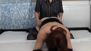 Kinky Mistress Fucking T-Girls And Crossdressers