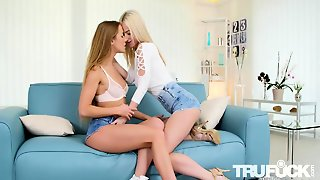 Alexis Crystal, Nathaly Cherie In Swap His Load