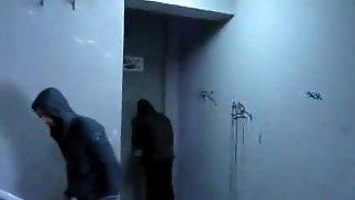 Sucking Dick In An Apartment Hallway And Spitting Out Nut