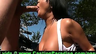 Angelica Heart Big Oiled Ass Babe Blowjobs