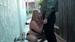 Sneaking Outside To Suck Dick For Candi From Dates25Com