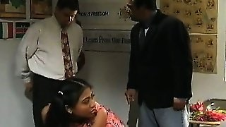 Brutal Threesome With Asian Princess