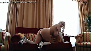 Blonde, Big Tits, Gay, Gloves