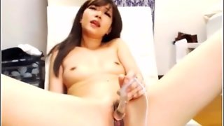 Ameliemay Fingering Her Wet Pussy In Group Show