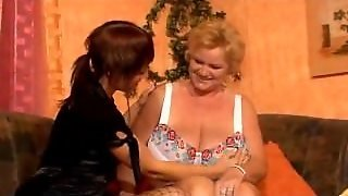 German Beautiful Lesbian With Granny