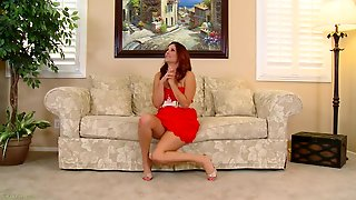 Tempting Redheaded Mom With A Nice Big Ass Teases