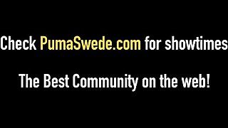 Swedish Amazon Puma Swede Eats Pussy With Hot Allison Moore!