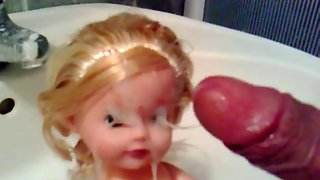 Blonde Doll Facial 2