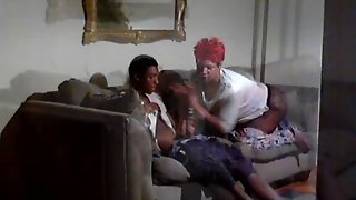 Mom Swallows Young Dick
