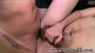 Cruiser Boys Gay Sex Video Aaron Balances Himself On Top Of