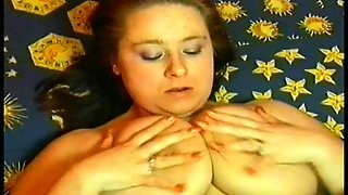 Big Woman Exercisers In Bed