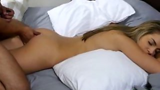 Kimmy Grangers Pussy Fucked With A Large Rod