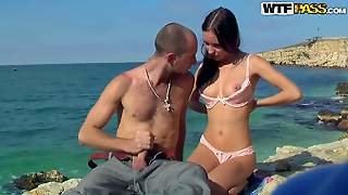 Aurita And Her Boyfriend Are Visiting Crimea And Enjoy Beatiful